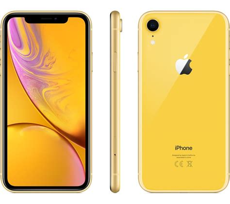 buy apple iphone xr  gb yellow  delivery currys