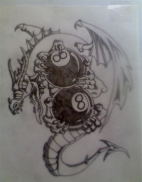 eight ball tattoo designs 8 tattoos and designs page 44