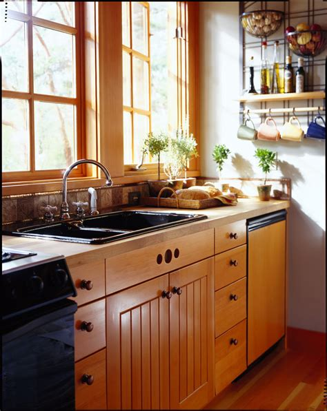 fir kitchen cabinets bright fir cabinets in kitchen traditional with glass wall