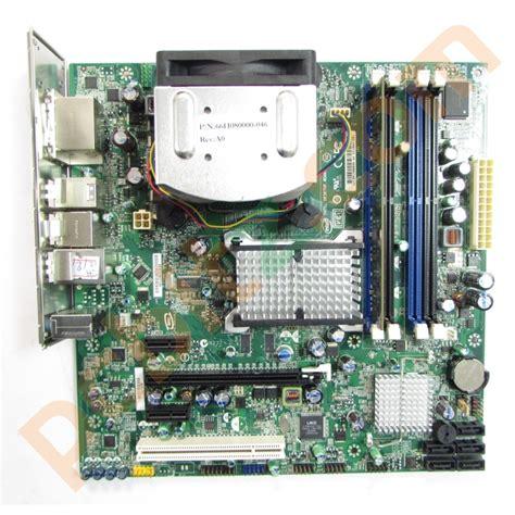motherboard cpu ram bundle intel dq45cb motherboard 2 duo e7400 2 8ghz 2gb