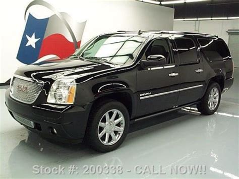 2010 gmc yukon denali nav dvd loaded milton ontario used car for sale 2148227 sell used 2010 gmc yukon denali xl sunroof nav dvd rear cam 32k texas direct auto in stafford