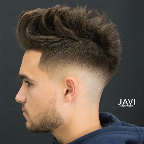 boys cool faded fohawk haircut low fade haircuts