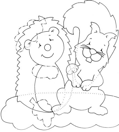 cute hedgehog coloring pages 17 best images about animali di autunno on pinterest