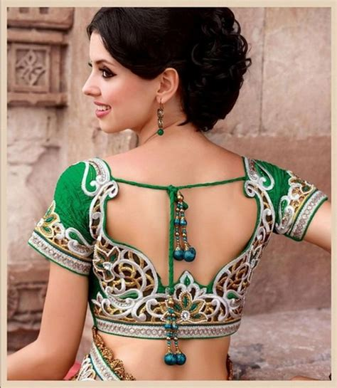 latest blouse design pattern images back neck blouse designs latest back neck blouse patterns