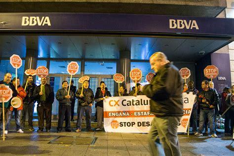 oficina central bbva stop desahucios localizar 225 sus protestas ante la oficina