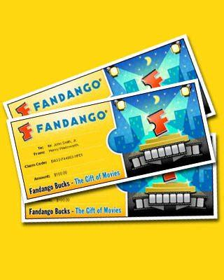 Where Are Fandango Gift Cards Accepted - 50 fandango gift card
