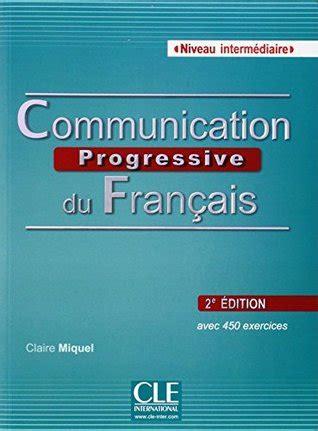 communication progressive du francais eme edition