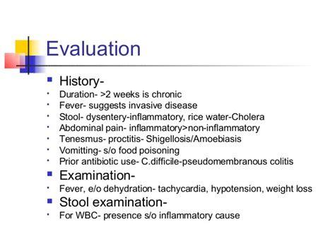 Stool Examination Wbc by Acute Infectious Diarrhea