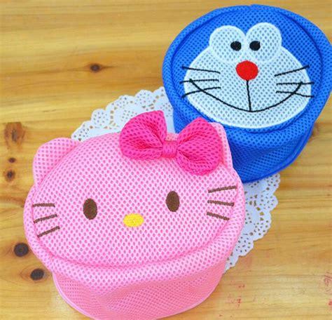 Cop Renteng Hello Melody Doraemon 1 hello my melody doraemon bra anti wrap laundry bag machine laundry basket