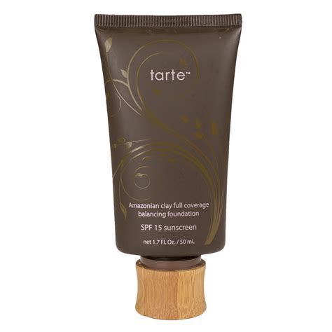 best rated full coverage foundation makeup 2015 tarte amazonian clay 12 hour full coverage foundation spf