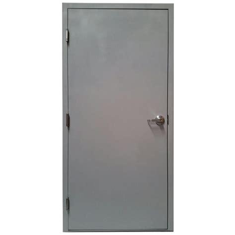 right outswing exterior door armor door 36 in x 84 in gray right
