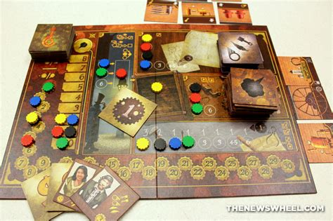 Board Game Review: Gear & Piston from LudiCreations   The