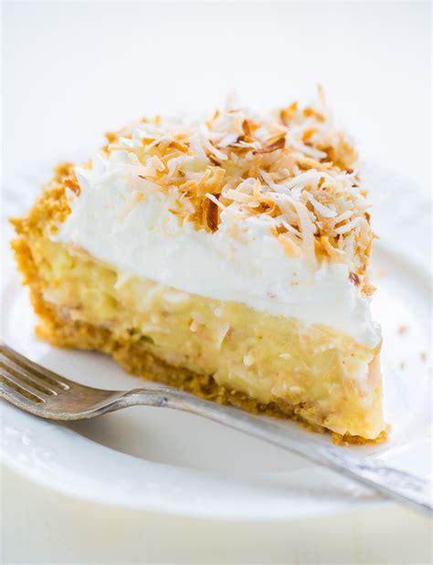 Homemade Coconut Cake Recipe by Coconut Cream Pie Recipe Dishmaps