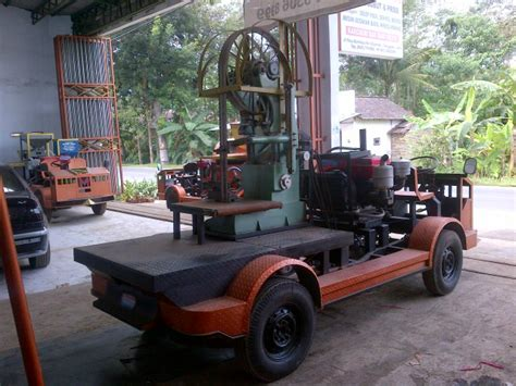 Gergaji Mesin Slendang Band Saw Benso Grandong Gergaji Slendang Band Saw
