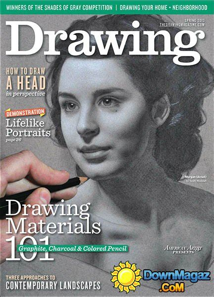drawing spring    magazines magazines