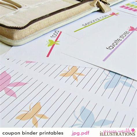Printable Coupon Binder