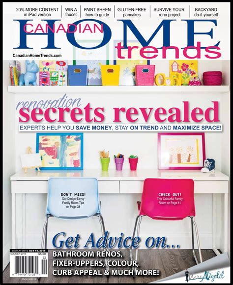 home trends magazine canadian home trends magazine i m on the cover decor