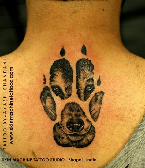 wolf paw print tattoo the 25 best wolf paw tattoos ideas on wolf