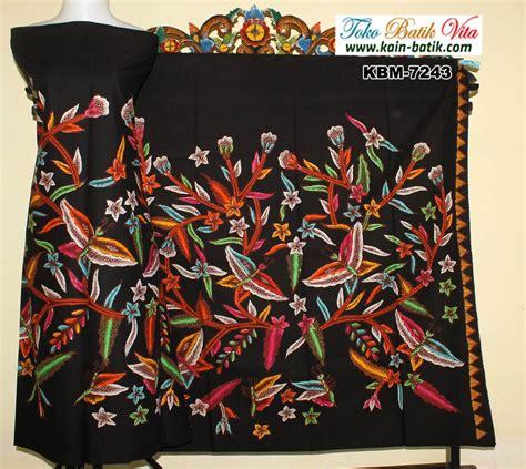Batik Kupu batik flora fauna kupu kupu cantik kbm 7243 kain batik murah