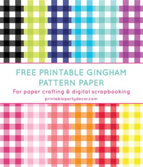 pattern paper on pinterest digital papers digital gingham digital paper in 12 colors gingham pattern