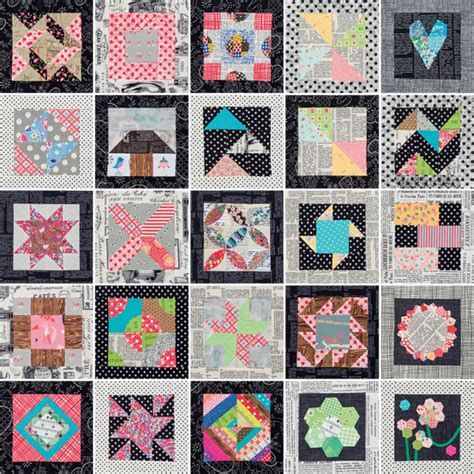 Patchwork Quilt Blocks - your turn to design start with easy quilt block patterns