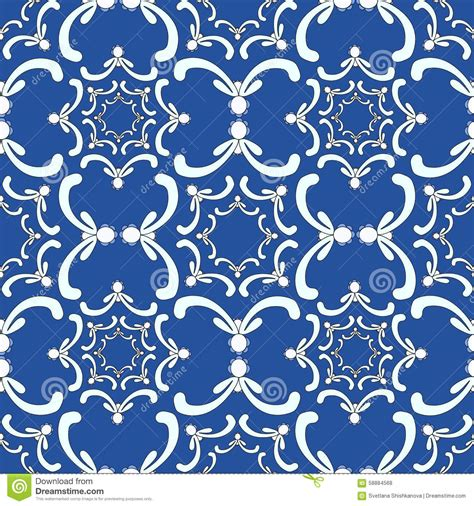 seamless pattern template ornamental seamless pattern vintage template stock