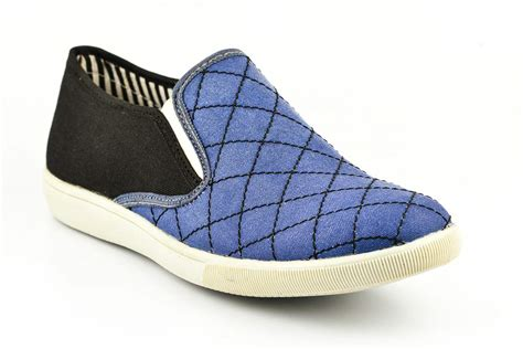 provogue mens blue casual slip on shoes pv1075blueblk