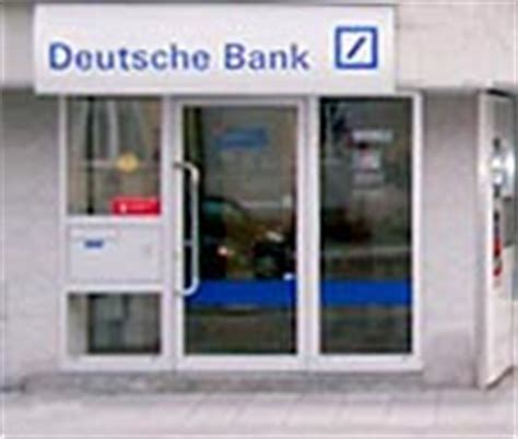 oeffnungszeiten deutsche bank deutsche bank investment finanzcenter m 252 nchen