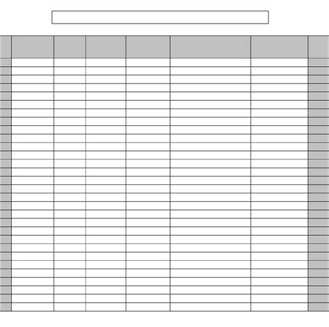 blank club roster template free download