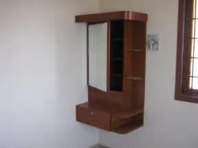 Wall mounted dressing cabinet gharexpert