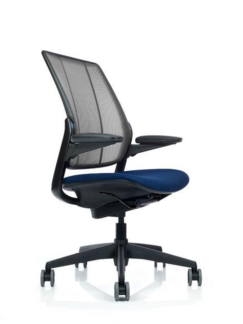 Humanscale Chair - ergonomic mesh back office chair diffrient smart