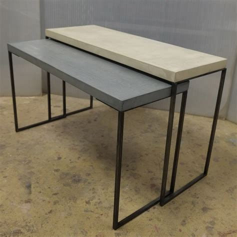 Tables Basses Gigogne 1290 by S Attabler Colore Industriale