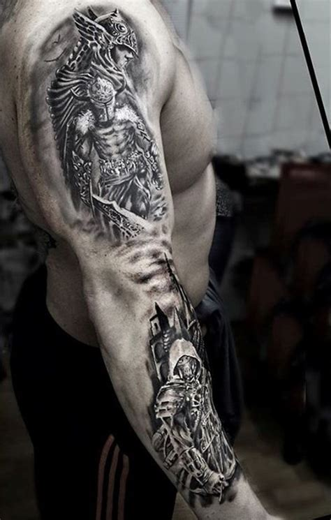 100 warrior tattoo designs to get motivated