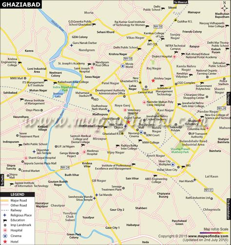 ghaziabad in india map allahabad city map browse info on allahabad city map