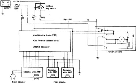 1988 mazda rx 7 audio system circuit diagram circuit