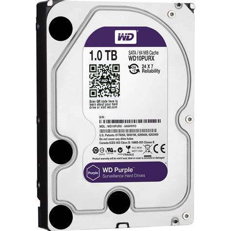 wd 1tb purple surveillance oem drive wd10purx b h