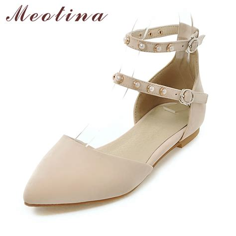flat pointed shoes with ankle meotina flat shoes ankle flats pointed toe