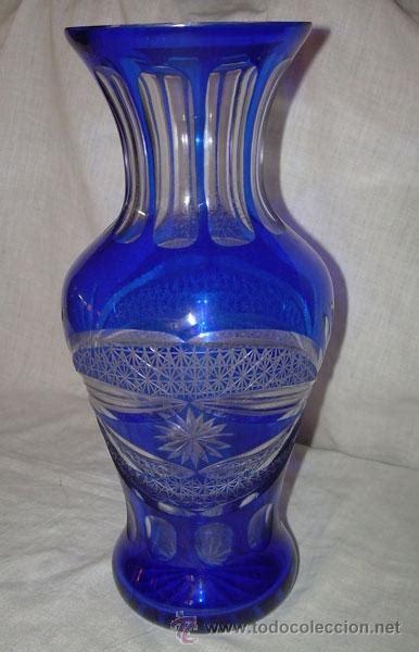 floreros de cristal de bohemia antiguo jarr 243 n florero de cristal de bohemia comprar