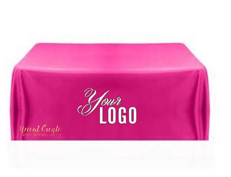 personalized table cloth 6ft custom tablecloth personalized table cloth direct