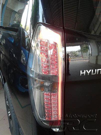 Lu Motor Led Kotak hyundai h1 2008 ไฟท าย led เกาหล superlux ส ดำ trc