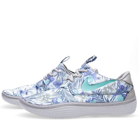 nike floral sneakers cheap wholesale womens nike solarsoft moccasin sp floral
