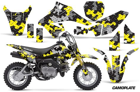 Suzuki Drz 70 Parts Amr Racing Suzuki Drz 70 Graphic Kit Wrap Dirt Bike Decals