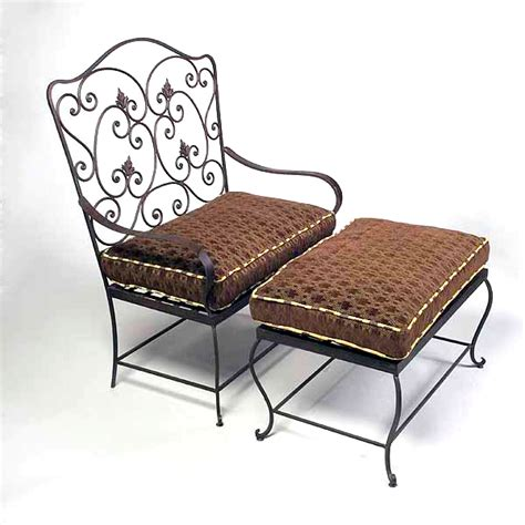 wrought iron ottoman philly ottoman