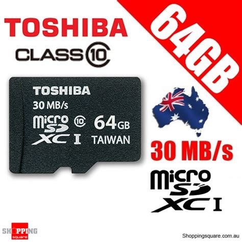 Toshiba Microsdhc Uhs I Class 10 30mb S 32gb Withsd Card Adapter S toshiba 64g microsdhc 30mb s class 10 flash memory card shopping shopping square