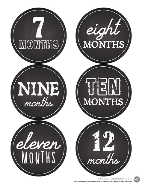 Baby S Year Stickers