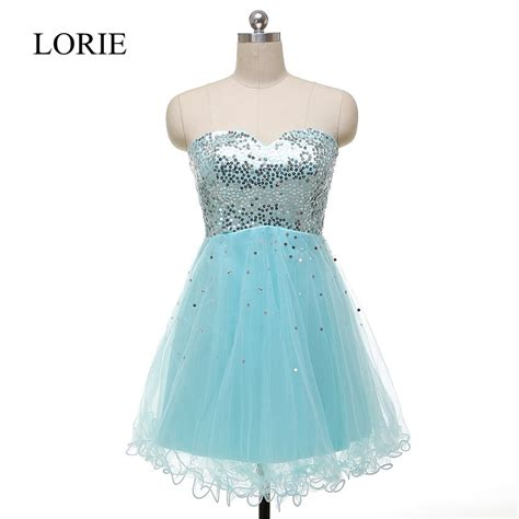 light blue sparkly dress sparkly light blue short prom dresses 2016 real picture