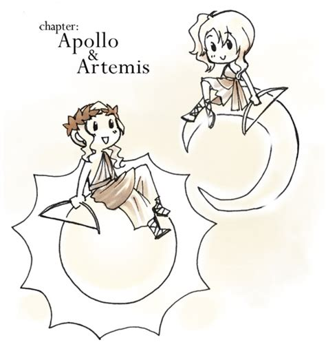 mytholol comics cover apollo amp artemis