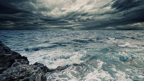 stormy ocean wallpaper high resolution stormy sea sky