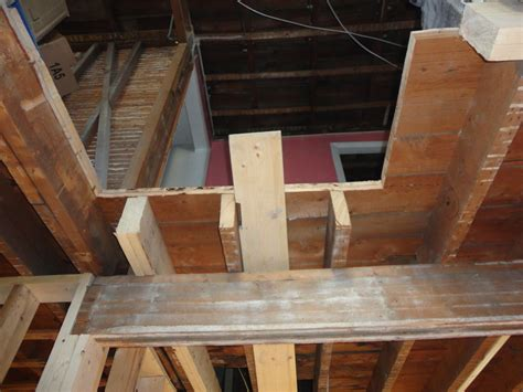 The Life Of Cayce And Avi And Belle Sistering A Joist