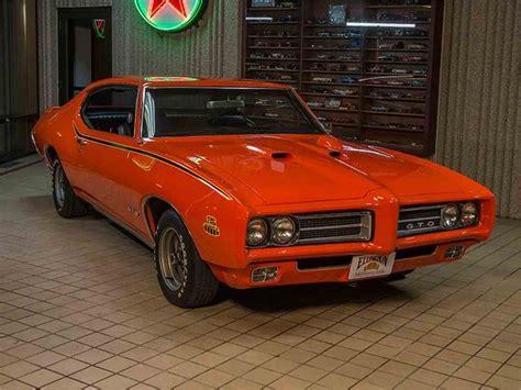 Pontiac Gto Sale by 1969 Pontiac Gto For Sale Classiccars Cc 957063